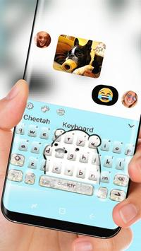 White Bear Keyboard Theme apk screenshot
