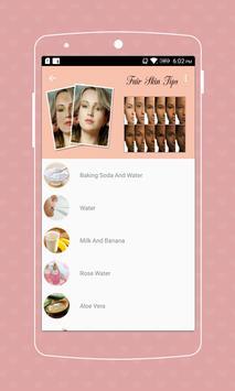 Fair Skin Tips screenshot 2