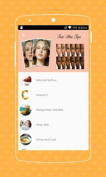 Fair Skin Tips screenshot 3