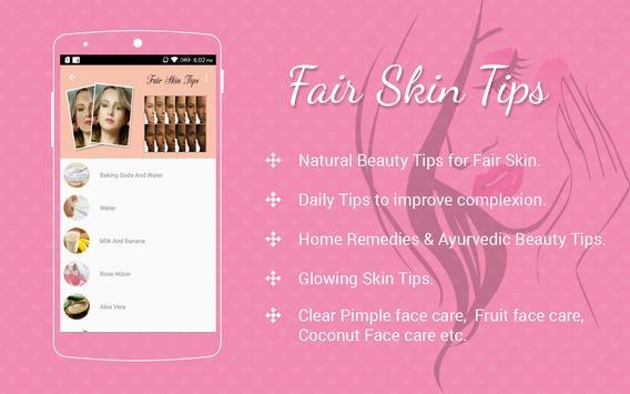 Fair Skin Tips screenshot 4