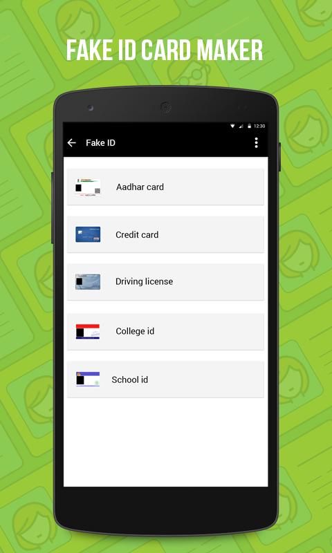 Fake id card maker apk download gratis hiburan apl untuk android apkpurecom for Fake certificates maker