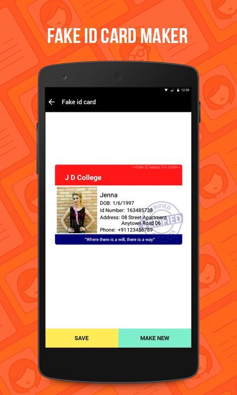 Fake Aadhar Card Maker App For Pc - Aadhar In