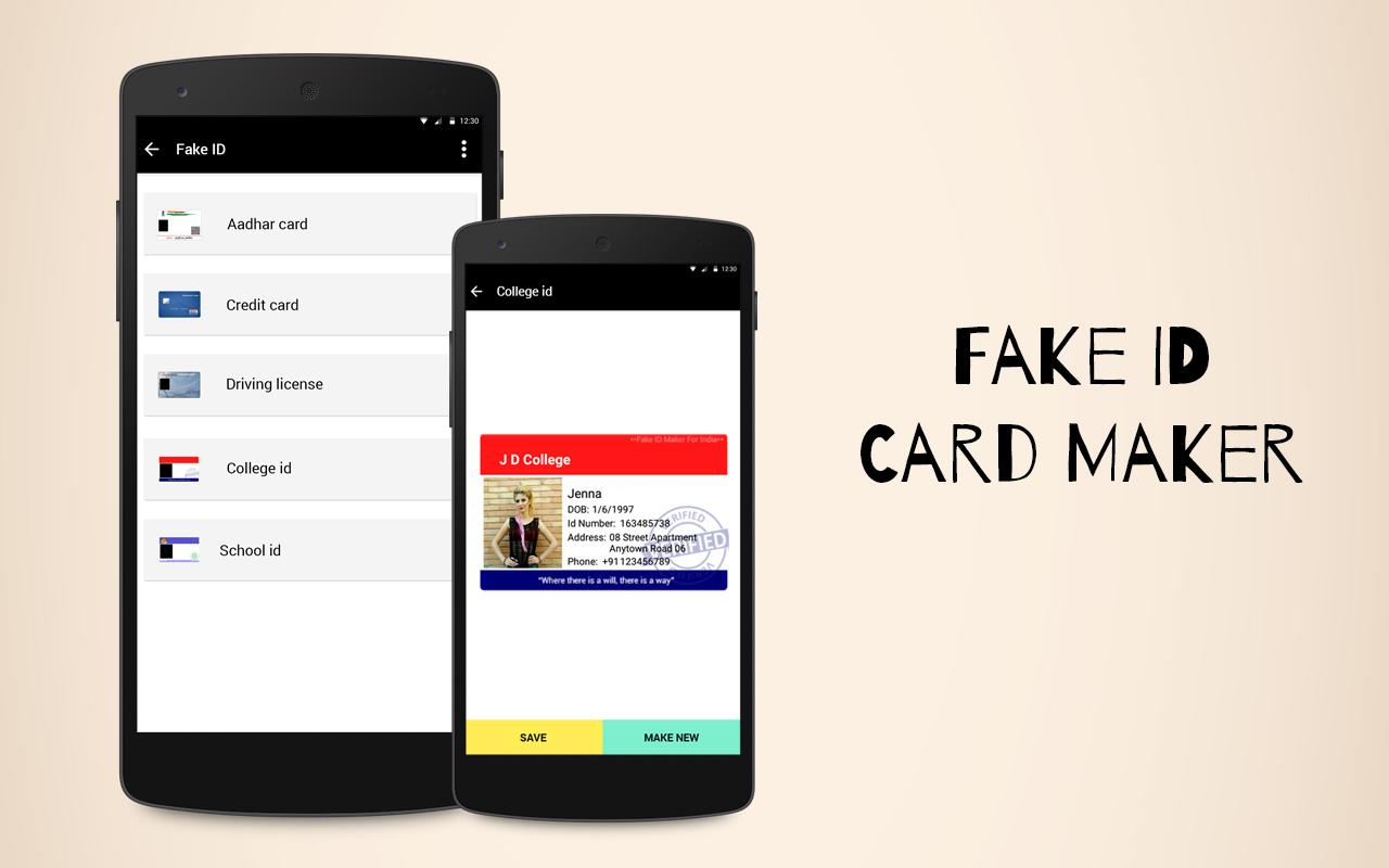 Fake id card maker apkfake id card maker apk apkpure for Fake certificates maker