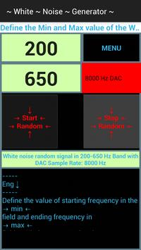 White Noise Generator apk screenshot