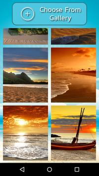 Beach Photo Frame apk screenshot