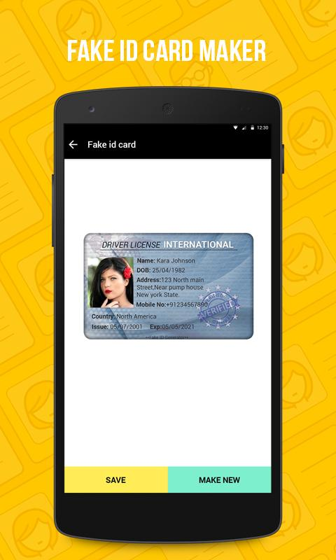 Fake Driving Licence India for Android - APK Download