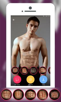 Six Pack Photo Editor poster