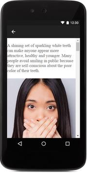 Whiten Yellow Teeth apk screenshot