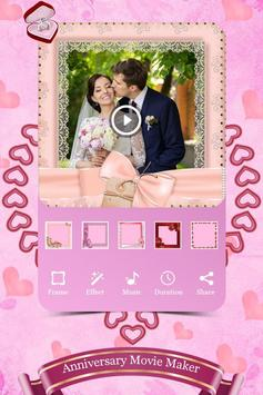 Anniversary Photo Video Maker With Music poster