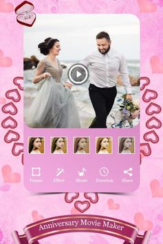 Anniversary Photo Video Maker With Music screenshot 1