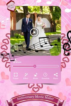 Anniversary Photo Video Maker With Music screenshot 2