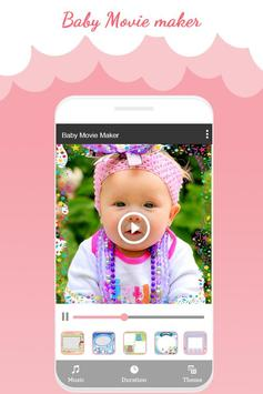 Baby Photo Video Maker With Music apk screenshot