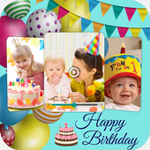 Birthday Photo Video Maker With Music icon
