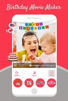 Birthday Photo Video Maker With Music screenshot 2