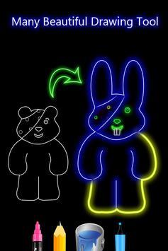 Glow Draw - Photo Art screenshot 1
