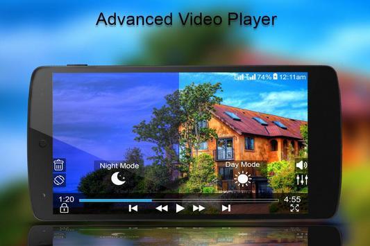 MP4/3GP/AVI HD Video Player screenshot 1