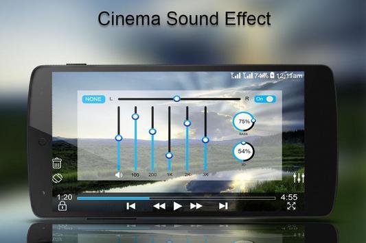 MP4/3GP/AVI HD Video Player screenshot 2
