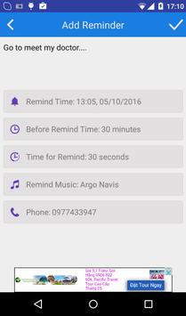 Simple Reminder apk screenshot