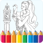 Best Coloring Game for Kids icon