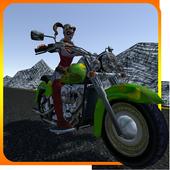 Thunder Female Bike Rider icon