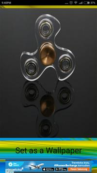 3d Fidget Spinner Live Wallpaper apk screenshot