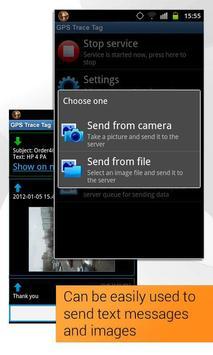 GPS Trace Tag capture d'écran 4