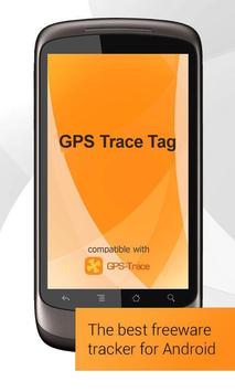 GPS Trace Tag Affiche