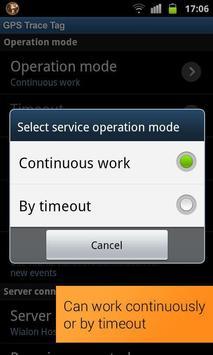 GPS Trace Tag capture d'écran 2