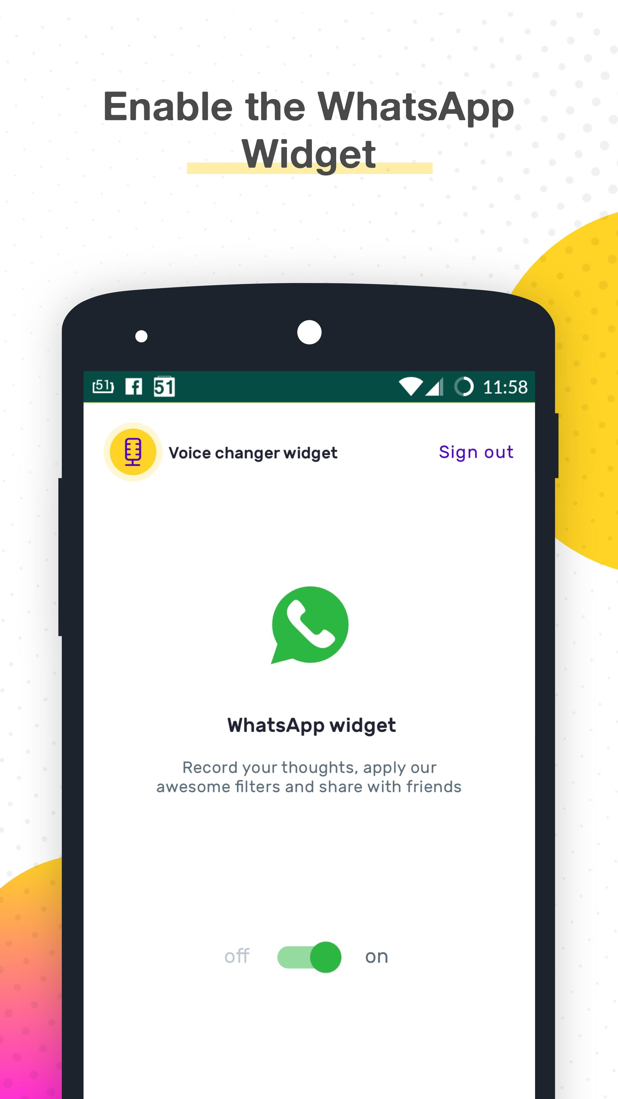 Voice Changer for WhatsApp for Android - APK Download