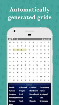 Word Search pattern Puzzle screenshot 2