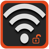 WiFi Password Hacker Simulated icon