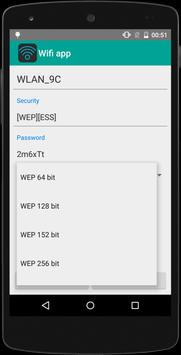 Wifi password app screenshot 1