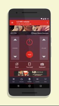 Smart TV Remote for LG SmartTV plakat