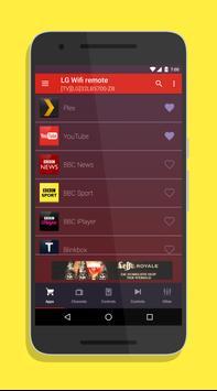 Smart TV Remote for LG SmartTV screenshot 2