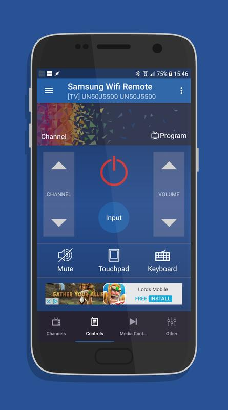 Remote for Samsung Smart TV WiFi Remote for Android - APK ...