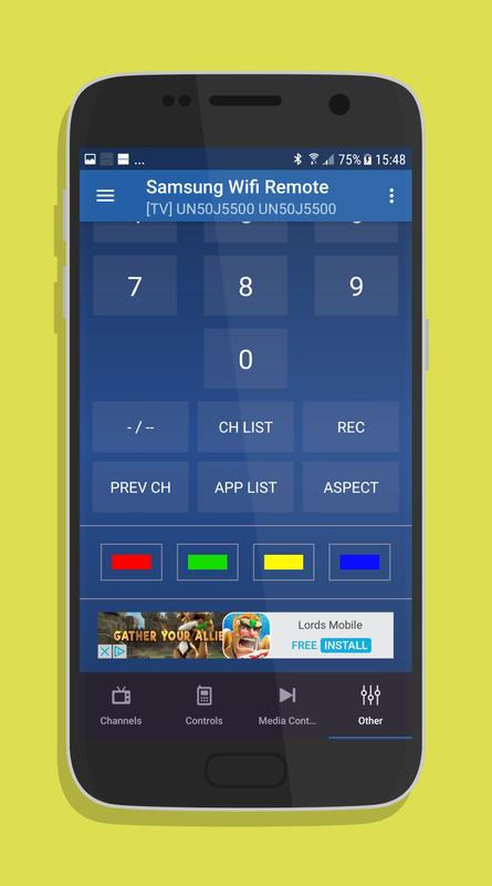 Remote control for samsung tv apk download | apkpure. Co.