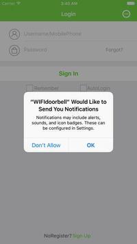 WIFIdoorbell-CUSAM screenshot 1