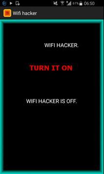 Wifi hacker simulator poster