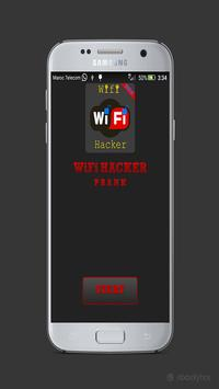 Wifi Hacker WPS WPA WPA2 Prank poster