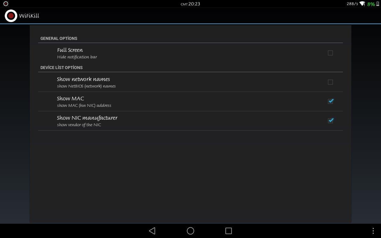 Aplikasi dan game WiFiKiLL PRO - WiFi Analyser