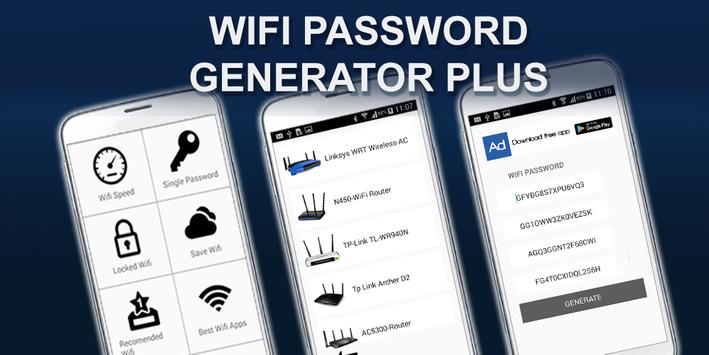 Wifi Password Generator Plus screenshot 5
