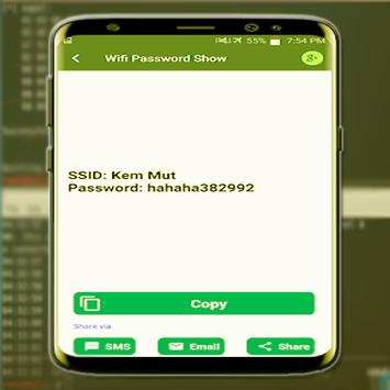Show WiFi Password 9 1 6 (Android) - Download APK