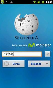 Wikipedia con Movistar (Ec) poster