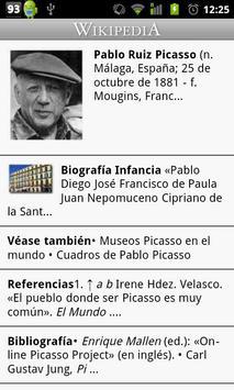 Wikipedia con Movistar (Sv) screenshot 1