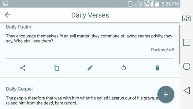 Bible KJV with Apocrypha apk screenshot