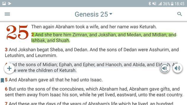 Bible KJV with Apocrypha screenshot 14