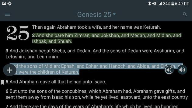 Bible KJV with Apocrypha screenshot 19