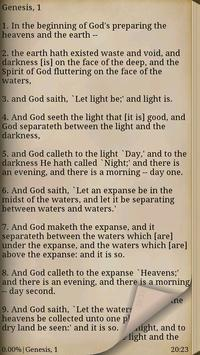 Bible (YLT) screenshot 2