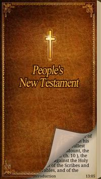People's New Testament poster