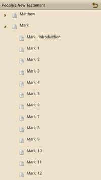 People's New Testament apk screenshot